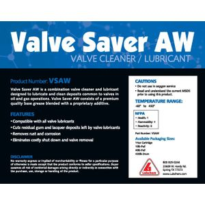 Valve Saver Cleaners / Valve Flush